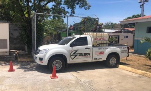 Trasiego de combustible   Seisa - Panamá